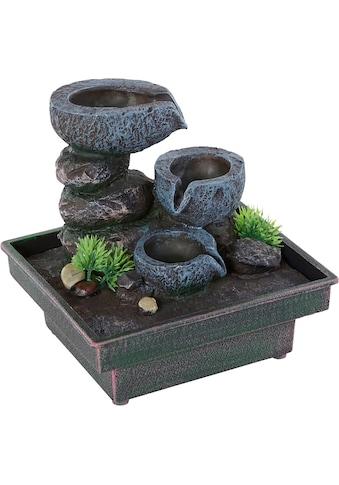 pajoma Zimmerbrunnen »Floating Stones«, Mit Netzbetrieb, Spannung:12 Volt, Netzteil... kaufen