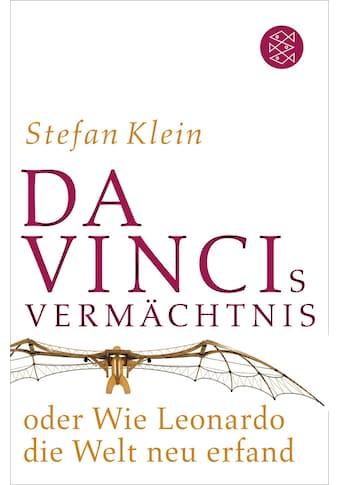 Buch »Da Vincis Vermächtnis oder Wie Leonardo die Welt neu erfand / Stefan Klein« kaufen