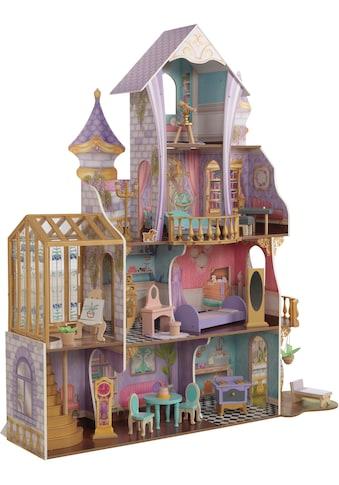 KidKraft® Puppenhaus »Zauberschloss mit Wintergarten«, mit Licht und Sound kaufen