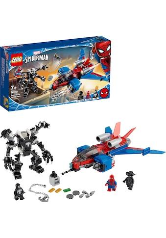 "LEGO® Konstruktionsspielsteine ""Spiderjet vs. Venom Mech (76150), LEGO® Marvel Super Heroes"", Kunststoff, (371 - tlg.) kaufen"