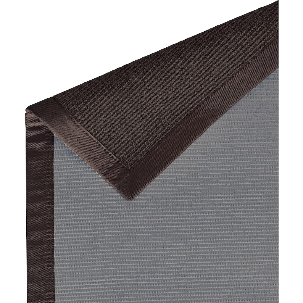 Dekowe Sisalteppich »Mara S2«, rechteckig, 5 mm Höhe, Flachgewebe, Obermaterial: 100% Sisal, Wohnzimmer