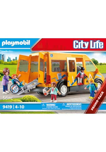 Playmobil® Konstruktions-Spielset »Schulbus (9419), City Life«, (56 St.), Made in Europe kaufen