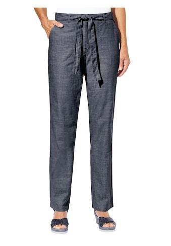 Casual Looks Hose mit passendem Bindegürtel kaufen