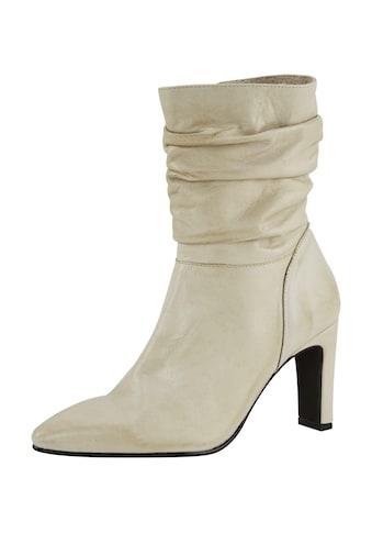 Stiefel mit trendiger Raffung kaufen