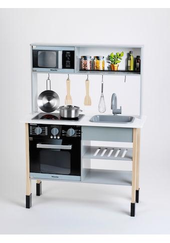 Klein Spielküche »Miele«, mit Zubehör aus Holz und Metall kaufen