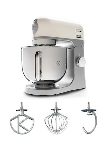 KENWOOD Küchenmaschine »kMix KMX 750WH«, 1000 W, 5 l Schüssel, inkl. 3-tlg.... kaufen