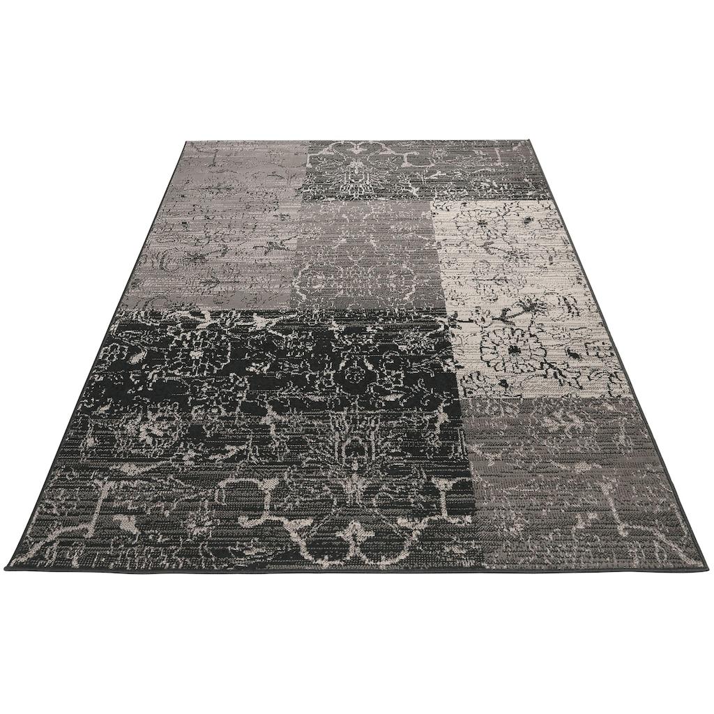 my home Teppich »Bennet«, rechteckig, 7 mm Höhe, Vintage Design, Wohnzimmer