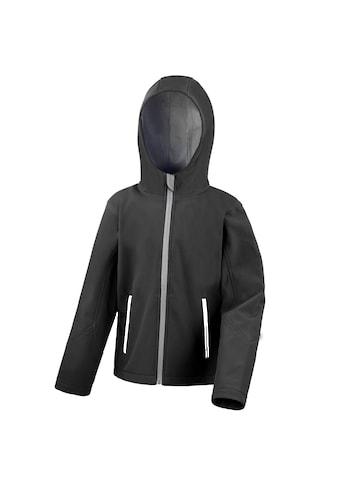 Result Softshelljacke »Core Kinder Junior Softshell-Jacke mit Kapuze« kaufen