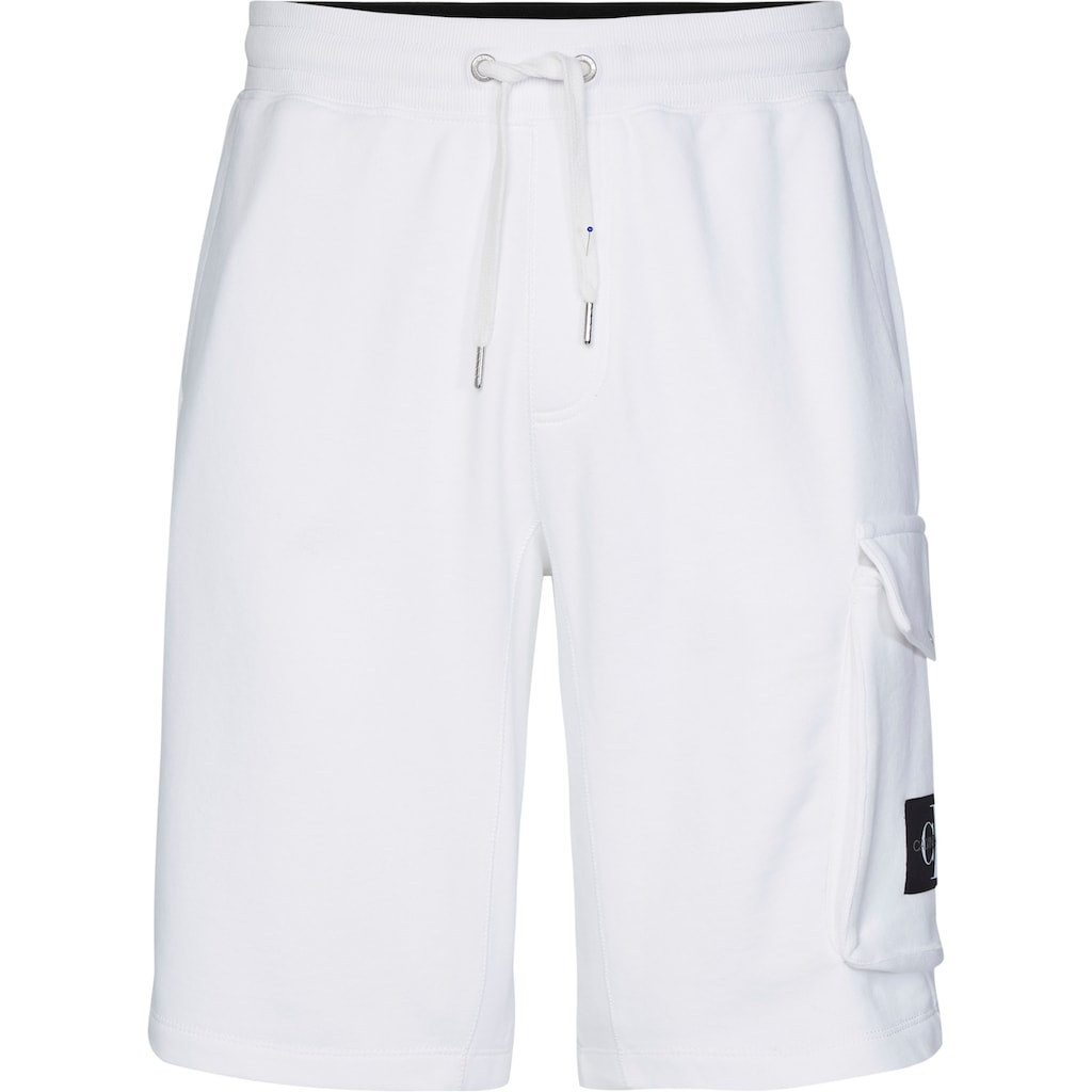 Calvin Klein Jeans Sweatshorts »MONOGRAM PATCH HWK SHORT«