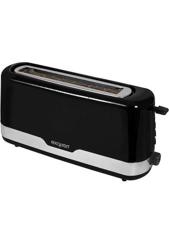 exquisit Toaster »TA 6501 swi«, 1 langer Schlitz, 850 W kaufen