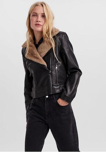 Vero Moda Lederimitatjacke »VMHAILEY SHORT COATED JACKET« kaufen