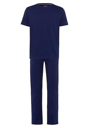TOMMY HILFIGER Pyjama, mit Kurzarmshirt kaufen