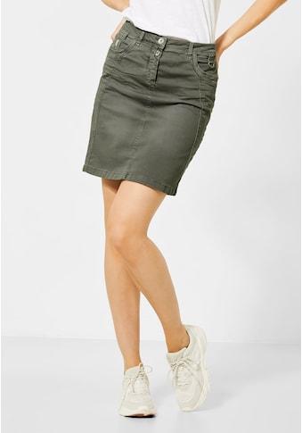 Cecil Minirock, 5-Pockets Style kaufen