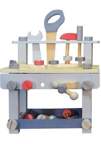 EverEarth® Werkbank »Kinder Werkbank mit Zubehör - Pastell«, FSC®-Holz aus... kaufen