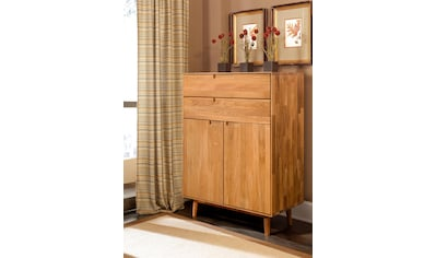 Home affaire Kommode »Scandi«, aus massivem Eichenholz, mit sehr viel Stauraum, Breite 80 cm kaufen