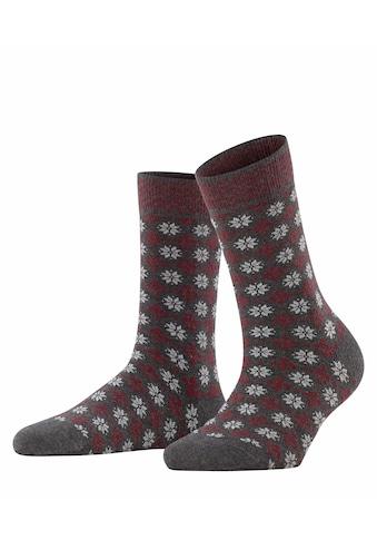 Esprit Socken »Norwegian«, (1 Paar), mit modischem Norwegermuster kaufen