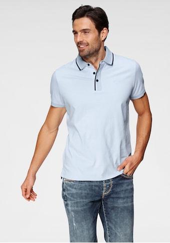 CAMP DAVID Poloshirt, mit Farbakzent kaufen
