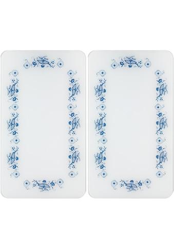 WENKO Herd-Abdeckplatte »Universal Blaue Rankblüten«, (Set, 2 tlg.) kaufen