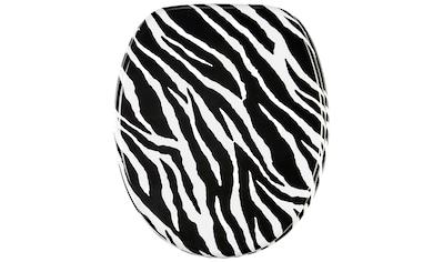 Sanilo WC-Sitz »Zebra Look«, mit Absenkautomatik kaufen