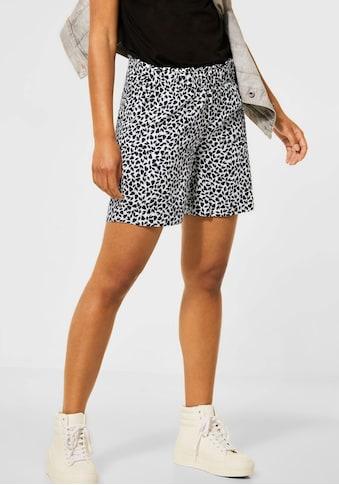 STREET ONE Shorts, mit seitlichen Taschen kaufen