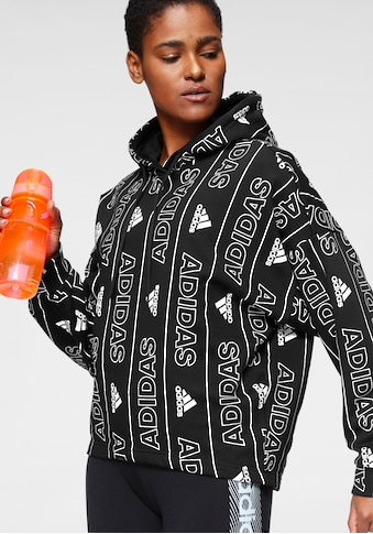 adidas Performance Kapuzensweatshirt »BATCH OF SPORT ALLOVERPRINT HOODIE« kaufen