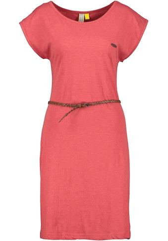 Alife & Kickin Jerseykleid »ElliAK«, süßes Sommerkleid mit überschnittenen Ärmeln & kleinem Gürtel kaufen