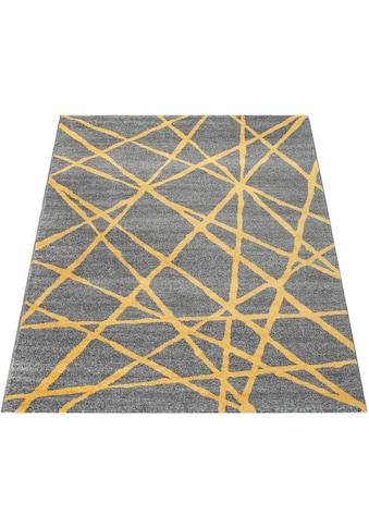 Paco Home Teppich »Pattern 127«, rechteckig, 18 mm Höhe, Kurzflor, Wohnzimmer kaufen