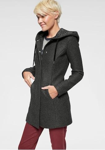 AJC Strickmantel, aus kuscheliger Fleecequalität und Samt-Kordeln kaufen