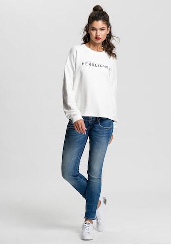 Herrlicher Slim-fit-Jeans »PITCH SLIM ORGANIC«, Vintage-Style mit Abriebeffekten kaufen