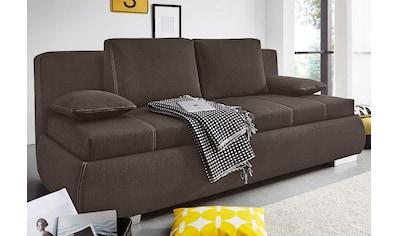 Jockenhöfer Gruppe Schlafsofa, inklusive Bettkasten und loser Kissen kaufen