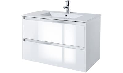Waschtisch »Fonte«, mit 2 Schubladen, 80 cm Breite kaufen