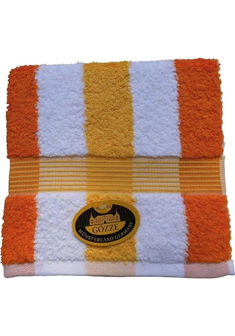 Gözze Handtücher »New York Streifen«, (2 St.), mit Bordüre kaufen