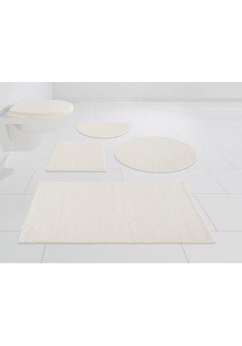 my home Badematte »Lovro«, Höhe 10 mm, beidseitig nutzbar-schnell trocknend-strapazierfähig, beidseitig verwendbar kaufen