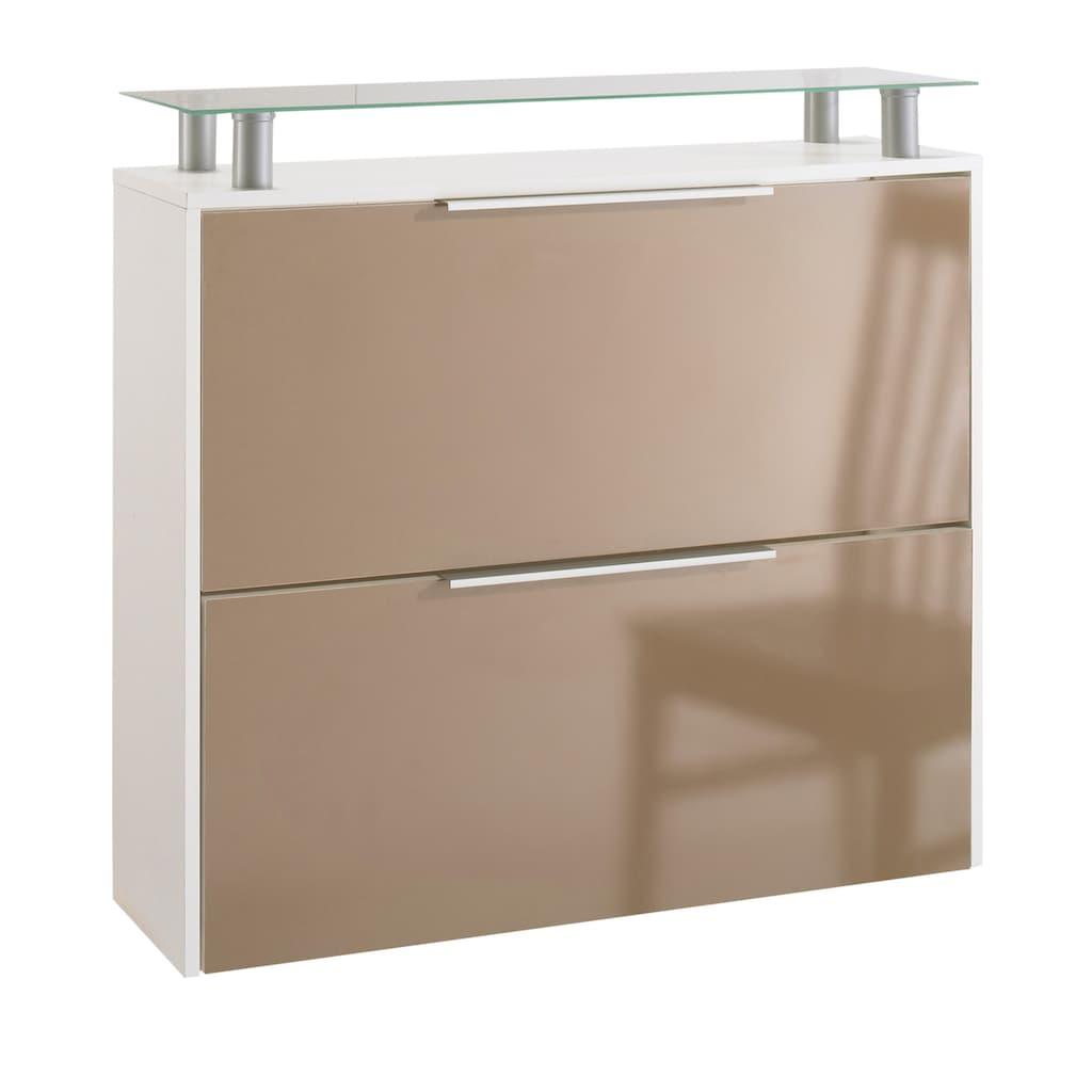 borchardt Möbel Schuhschrank »Rena«, Hängeschuhschrank, mit Glasablage