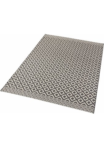 Zala Living Teppich »Avenue«, rechteckig, 4 mm Höhe, Flachgewebe, Hoch-Tief-Struktur,... kaufen