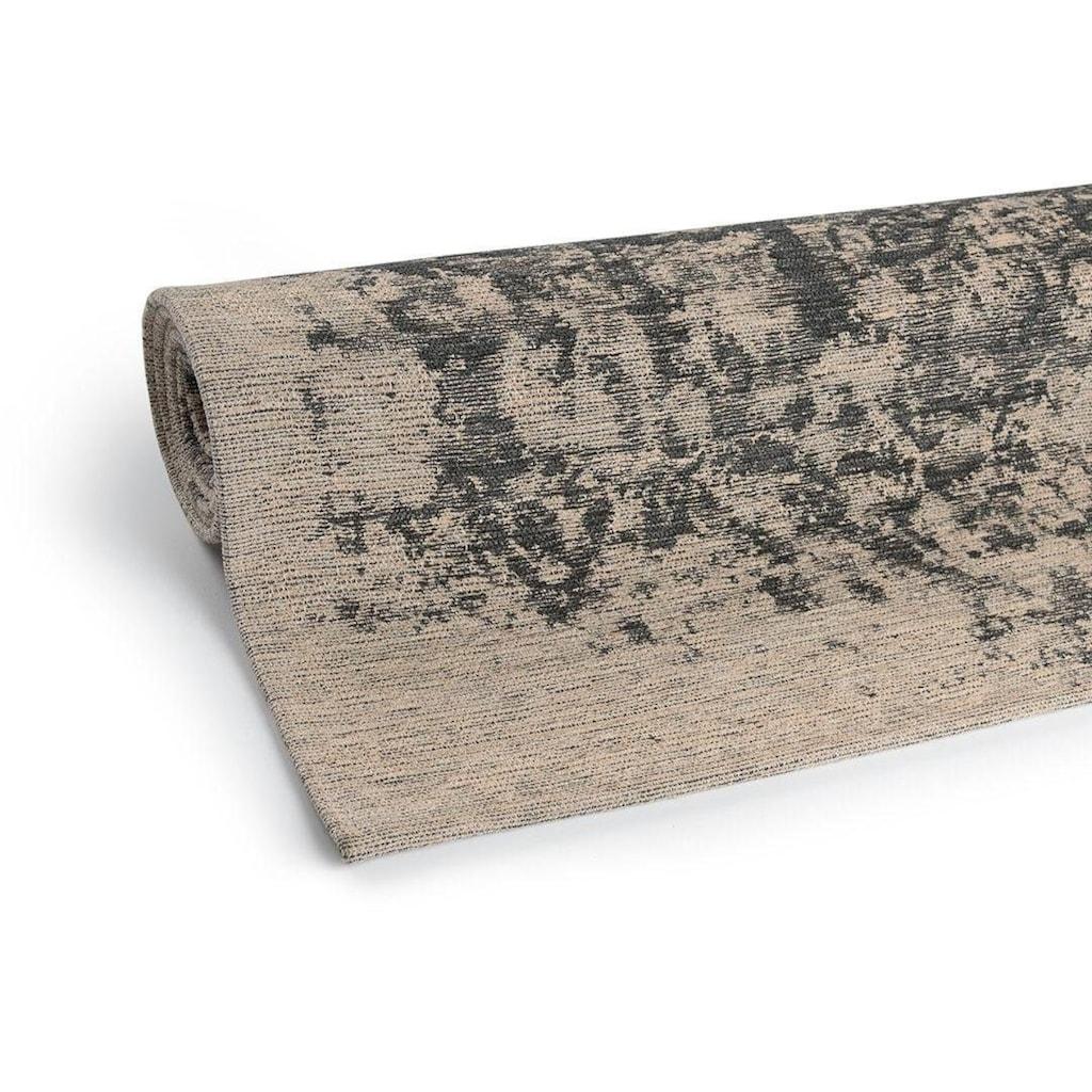 Sehrazat Teppich »Carina 6940«, rechteckig, 2 mm Höhe, Flachgewebe mit Baumwolle, Wohnzimmer