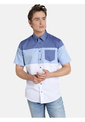 SHIRTMASTER Kurzarmhemd »blockingbeat« kaufen