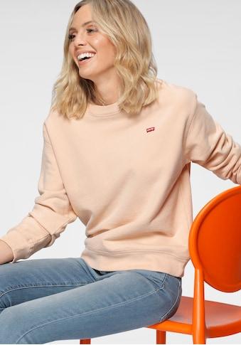 Levi's® Sweatshirt »Standard Crew«, mit kleinem Batwing -Logo kaufen