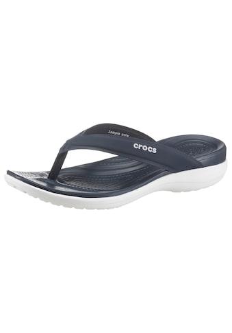 Crocs Badepantolette »Capri V Sporty Flip W« kaufen