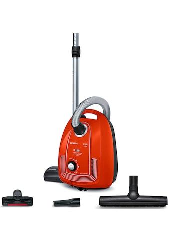 SIEMENS Bodenstaubsauger »Plus Limited Edition iQ300 VSP3AAAA, rot,«, 750 W, mit... kaufen