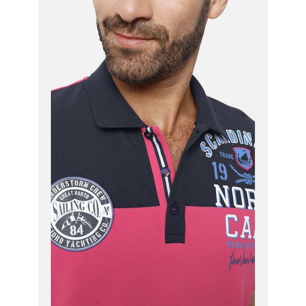 Jan Vanderstorm Poloshirt »RAMONT«, reine Baumwolle, Comfort Fit