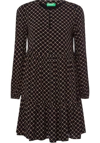 United Colors of Benetton A-Linien-Kleid, mit Allovermuster in unterschiedlichen Designs kaufen
