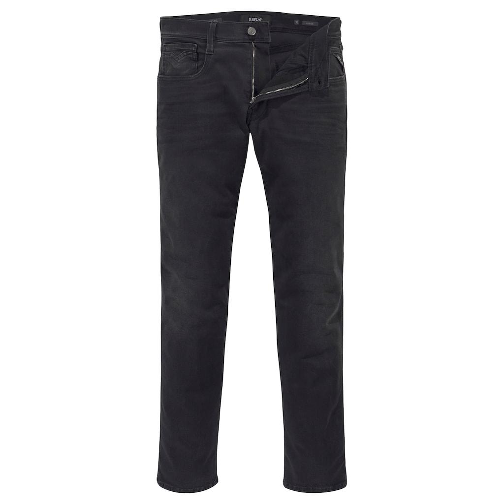 Replay Slim-fit-Jeans »ANBASS HYPERFLEX BIO«
