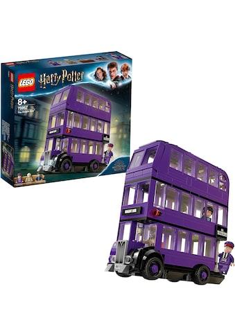 """LEGO® Konstruktionsspielsteine """"Der Fahrende Ritter™ (75957), LEGO® Harry Potter"""", Kunststoff, (403 - tlg.) kaufen"""