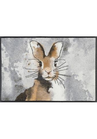 wash+dry by Kleen-Tex Fußmatte »Hopps«, rechteckig, 7 mm Höhe, Fussabstreifer,... kaufen