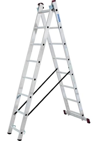 KRAUSE Doppelleiter »Corda«, 2x8 Sprossen kaufen