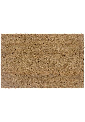 ASTRA Fußmatte »Kokosvelours 103«, rechteckig, 24 mm Höhe, Fussabstreifer, Fussabtreter, Schmutzfangläufer, Schmutzfangmatte, Schmutzfangteppich, Schmutzmatte, Türmatte, Türvorleger, Kokosmatte, In -und Outdoor geeignet kaufen