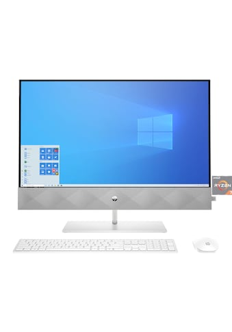 "HP All-in-One PC »Pavilion 24-k0019ng«, 60,45 cm (23,8"") Ryzen 7,512 GB + 1 TB, 16 GB kaufen"