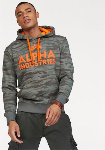 Alpha Industries Kapuzensweatshirt »Foam Print Hoody« kaufen
