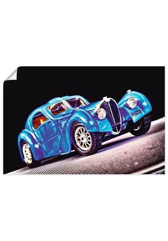 Artland Wandbild »Bugatti Typ 57«, Auto, (1 St.), in vielen Größen & Produktarten -... kaufen
